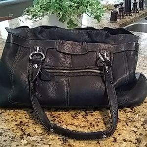 Black Coach Handbag * great condition